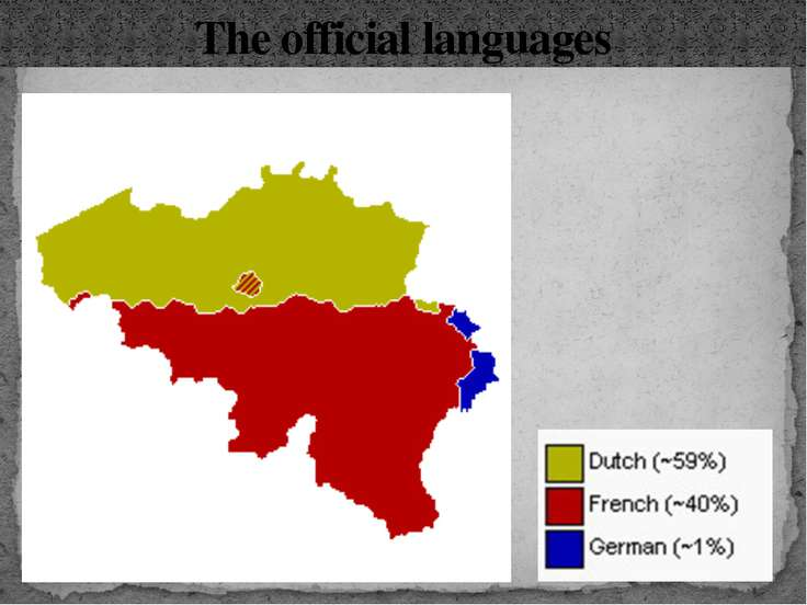 The official languages