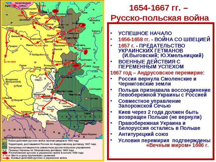УСПЕШНОЕ НАЧАЛО 1656-1658 гг. - ВОЙНА СО ШВЕЦИЕЙ 1657 г. - ПРЕДАТЕЛЬСТВО УКРА...