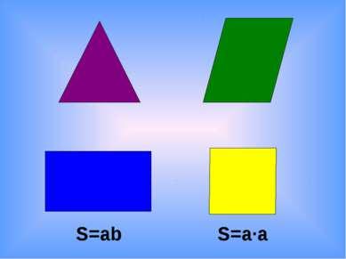 S=ab S=a·a