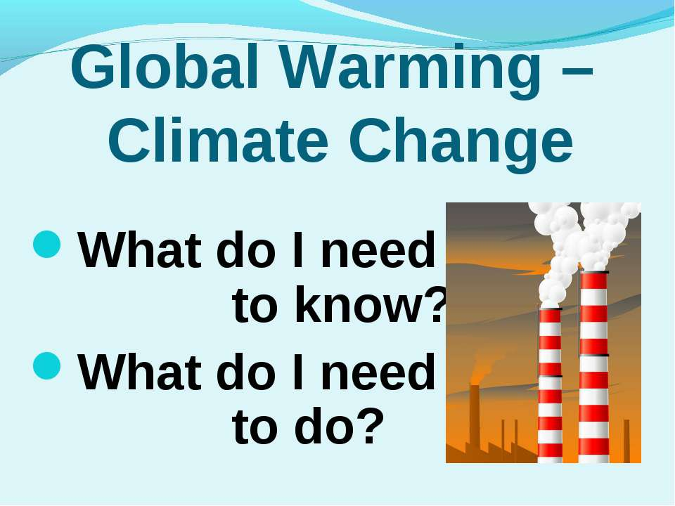 global warming 21 essay