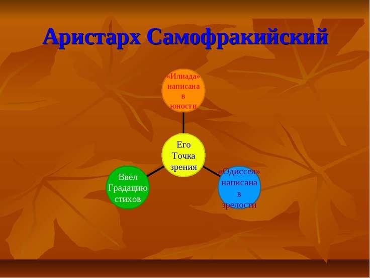 Аристарх Самофракийский