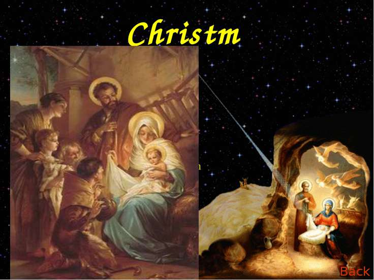 Christmas Christmas is celebrated all over the world. The Christmas story com...