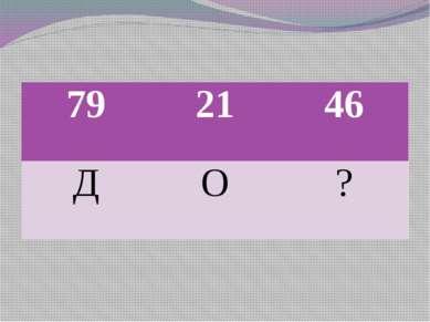 79 21 46 Д О ?
