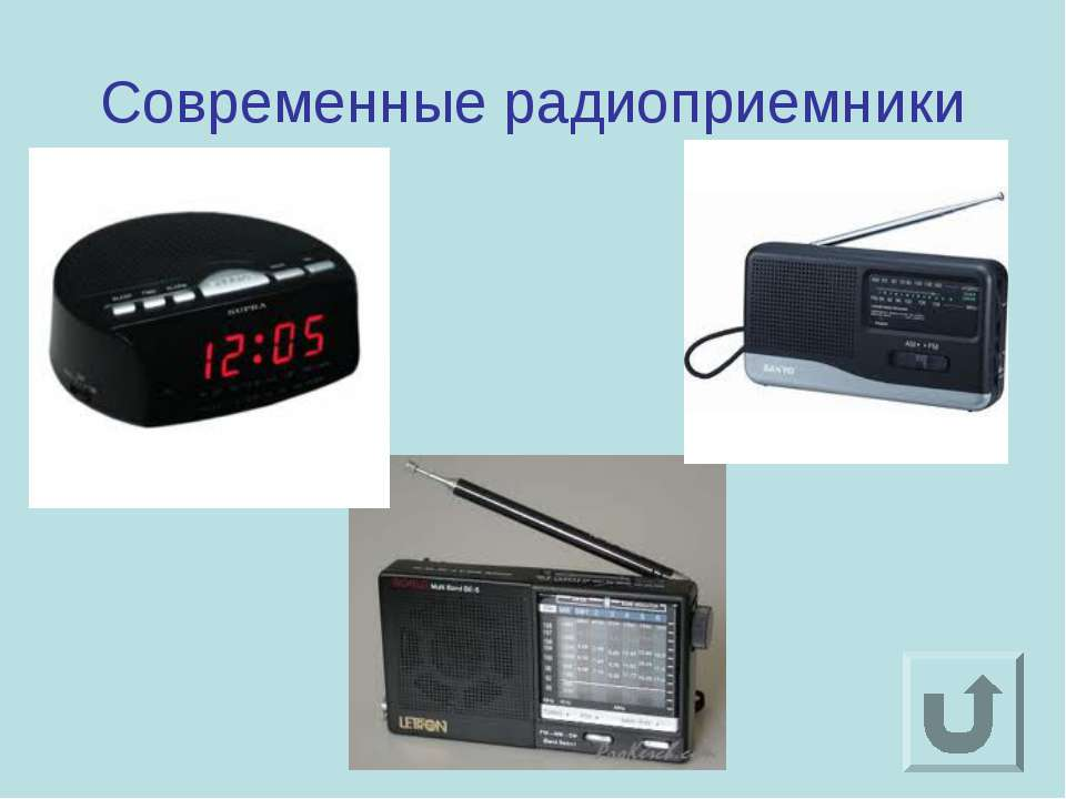 Современные радиоприемники