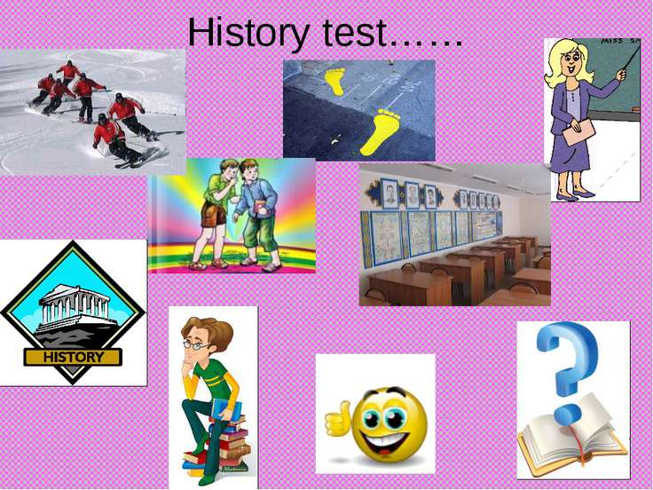 History test……