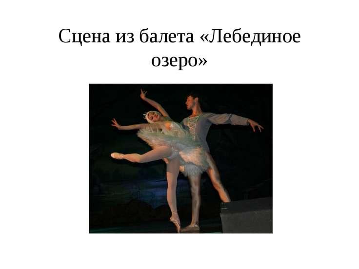 Сцена из балета «Лебединое озеро»