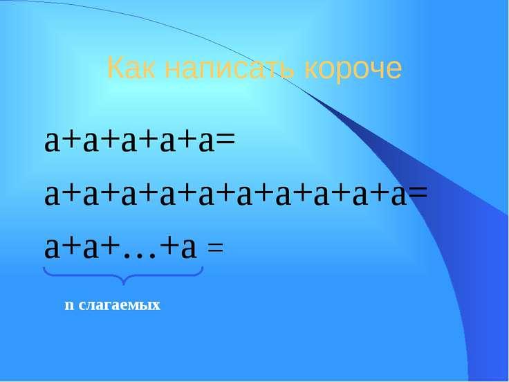 Умножение степеней с одинаковыми основаниями 23 25=(2 2 2) (2 2 2 2 2)=23+5=2...