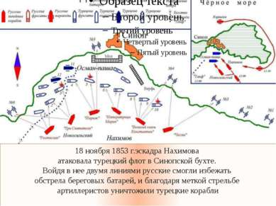 18 ноября 1853 г.эскадра Нахимова атаковала турецкий флот в Синопской бухте. ...