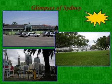 Glimpses of Sydney