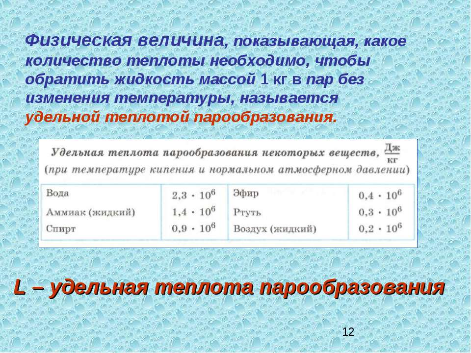 Физическая величина, показывающая, какое количество теплоты необходимо, чтобы...