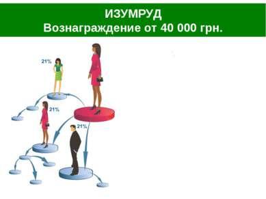 ИЗУМРУД Вознаграждение от 40 000 грн.