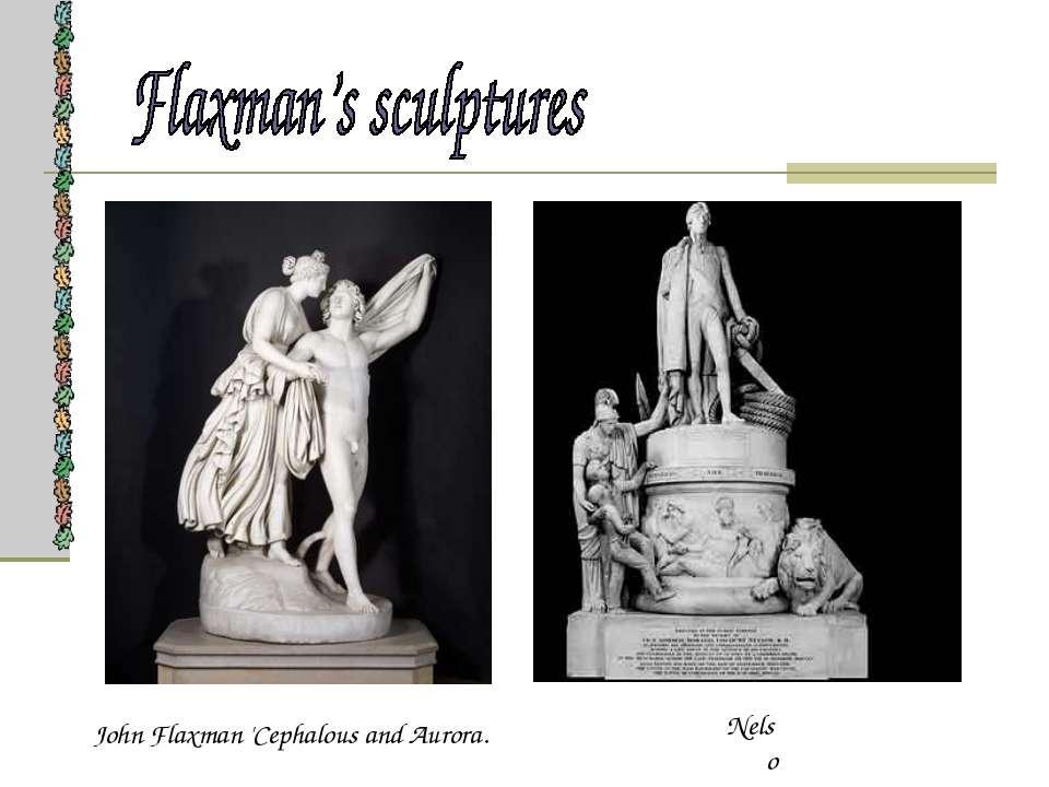 John Flaxman 'Cephalous and Aurora. Nelson