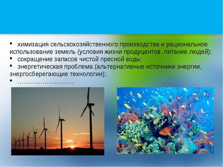 химизация сельскохозяйственного производства и рациональное использование зем...