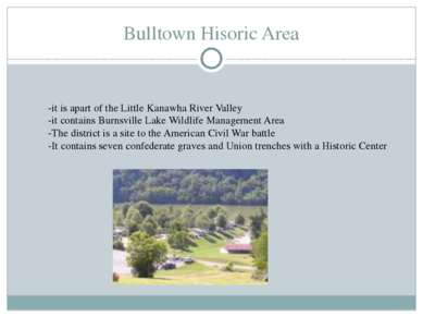Bulltown Hisoric Area