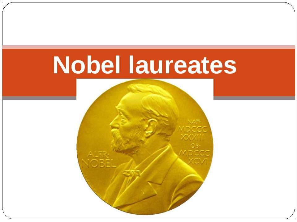 Nobel laureates