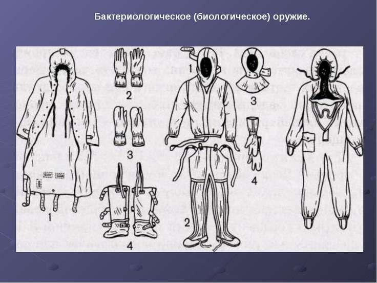 Бактериологическое (биологическое) оружие.