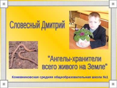 Кожевниковская средняя общеобразовательная школа №1