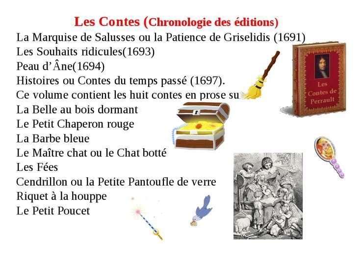 Les Contes (Chronologie des éditions) La Marquise de Salusses ou la Patience ...
