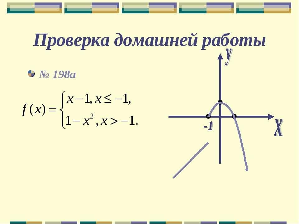 Проверка домашней работы № 198а