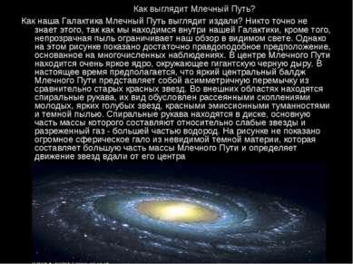 Как выглядит Млечный Путь? Как наша Галактика Млечный Путь выглядит издали? Н...