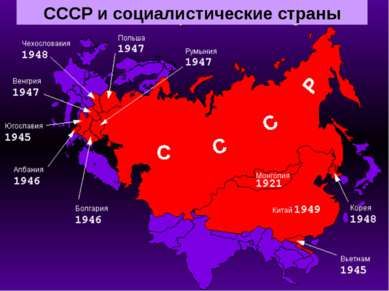 СССР и социалистические страны