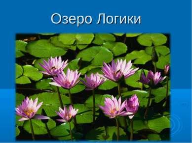 Озеро Логики