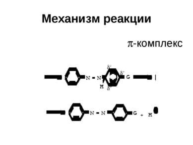 Механизм реакции -комплекс