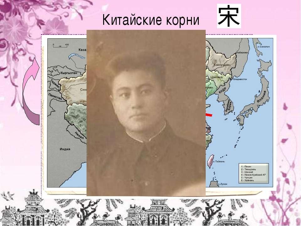 Китайские корни Я - Степанов Андрей Эдуардович 20.09.2001 г.р. Папа - Степано...