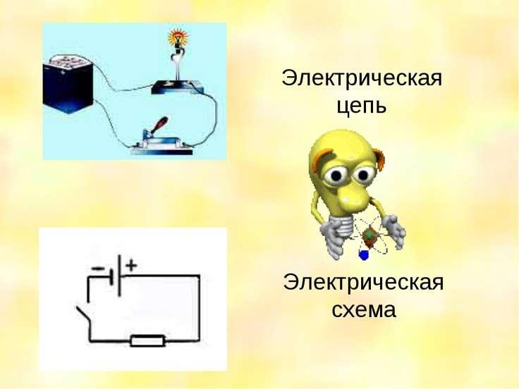 Электрическая цепь Электрическая схема