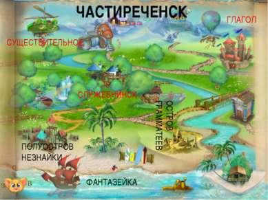 ФАНТАЗЕЙКА ЧАСТИРЕЧЕНСК ОСТРОВ ГРАММАТЕЕВ ПОЛУОСТРОВ НЕЗНАЙКИ ГЛАГОЛ СУЩЕСТВИ...