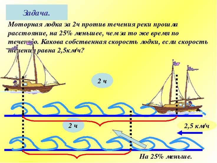 скорость моторной лодки при движении по течению равна 10