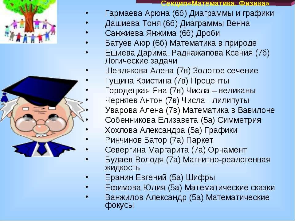 Гармаева Арюна (6б) Диаграммы и графики Дашиева Тоня (6б) Диаграммы Венна Сан...
