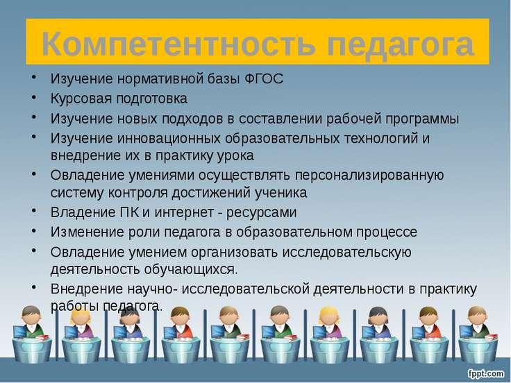 Изучение нормативной базы ФГОС Курсовая подготовка Изучение новых подходов в ...