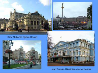 Kiev National Opera House Ivan Franko Ukrainian drama theatre