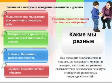 Уважаемые родители просим Вас зачитать информацию Мышление, вид мышления, мыс...