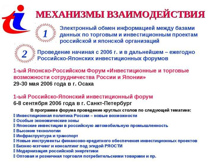 МЕХАНИЗМЫ ВЗАИМОДЕЙСТВИЯ 1 2 Электронный обмен информацией между базами данны...
