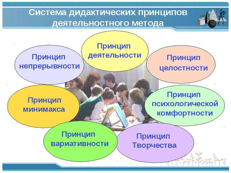 Система дидактических принципов деятельностного метода