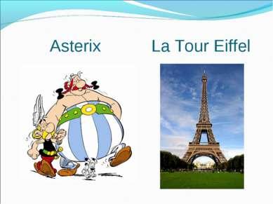 Asterix La Tour Eiffel