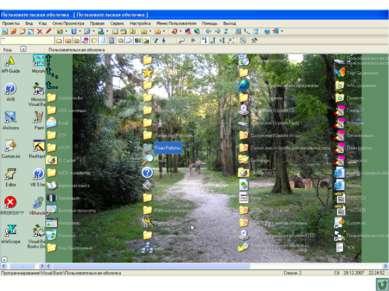 Скриншот Пользовательской оболочки