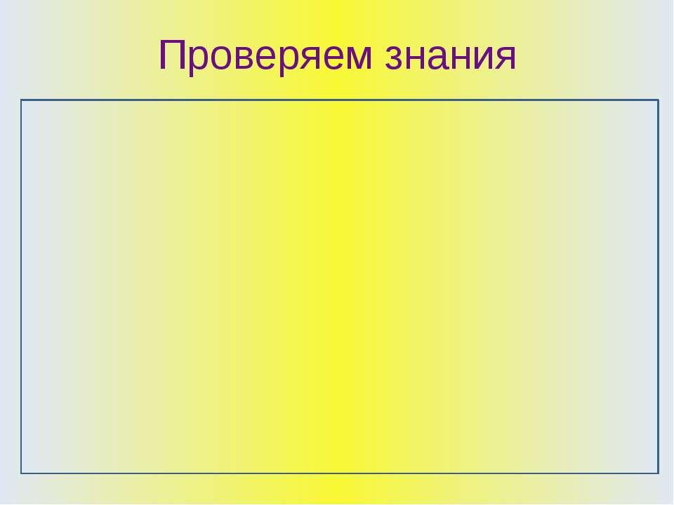 Проверяем знания 1 вариант Написать определения: Право Закончить предложения:...