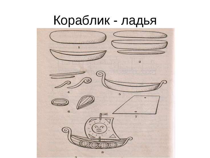 Кораблик - ладья