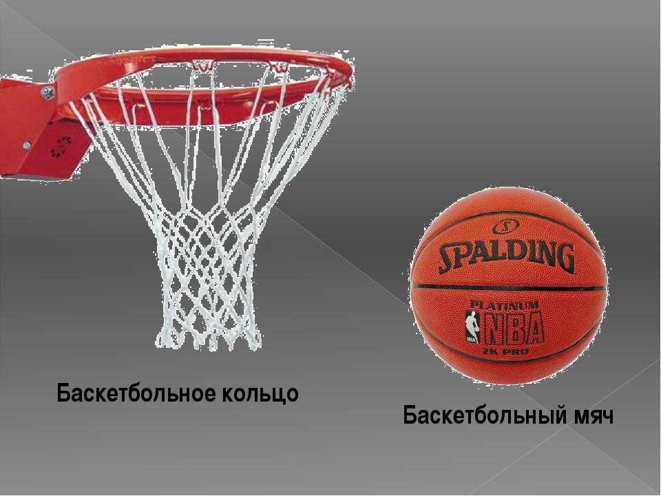 Баскетбольный мяч Баскетбольное кольцо