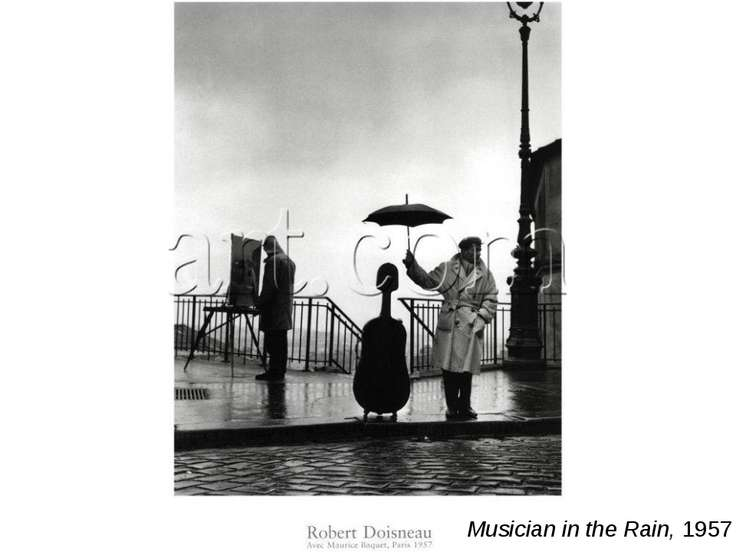 Musician in the Rain, 1957