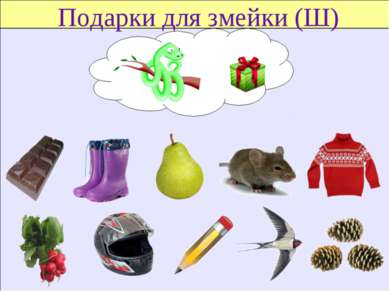 Подарки для змейки (Ш)