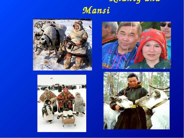 Khanty and Mansi