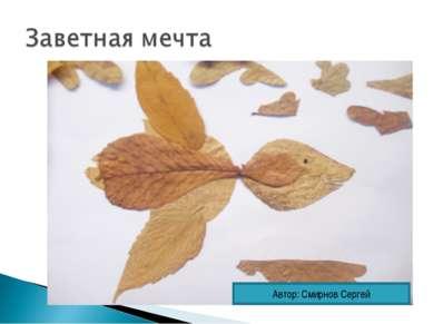 Автор: Смирнов Сергей