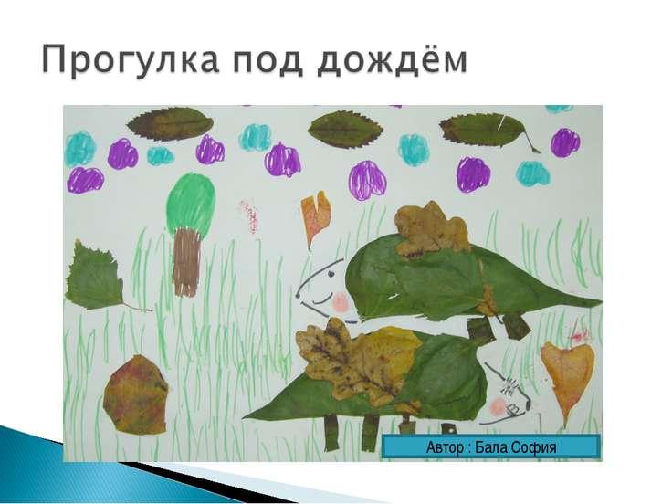 Автор : Бала София