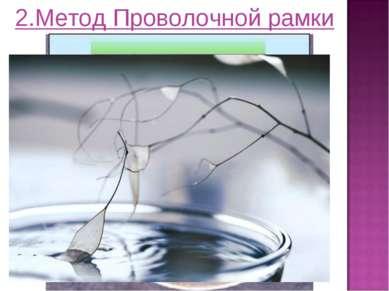 2.Метод Проволочной рамки