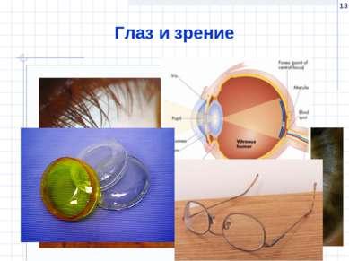 * Глаз и зрение