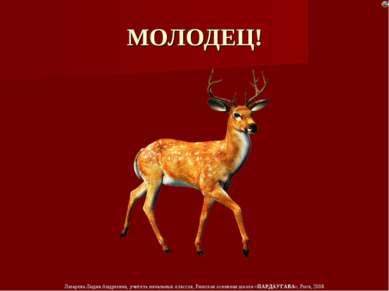 МОЛОДЕЦ! Лазарева Лидия Андреевна, учитель начальных классов, Рижская основна...